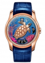 "Unique Timepiece  Continuity Ocean for the ""Bal du Printemps"" 2013"